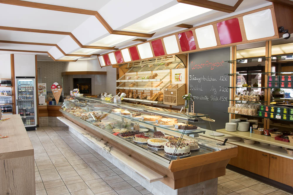 Rundblick Bäckerei am Rosenplatz